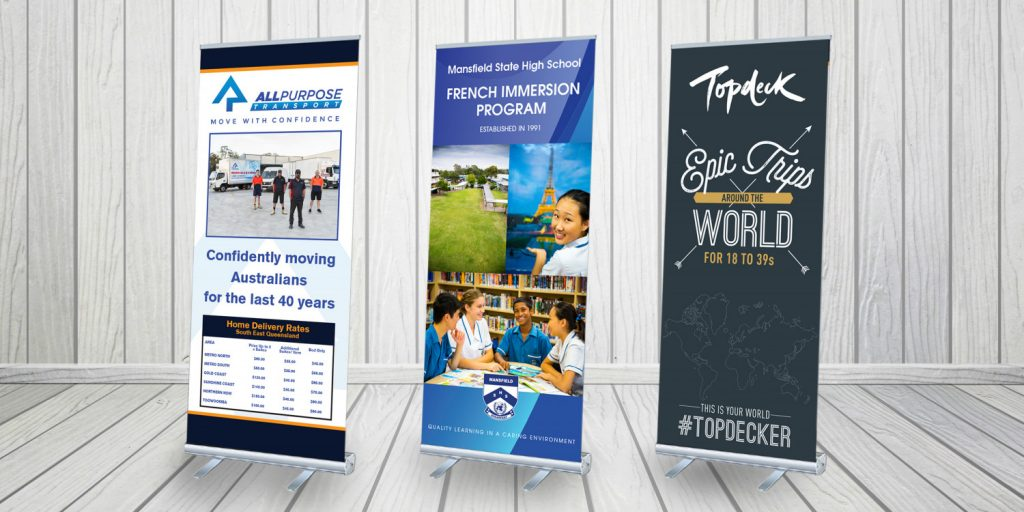 pull up banner stand printing singapore