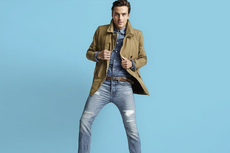 What are the current trends of men jeans?