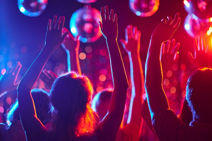 Party can carry colours with the help of night clubs
