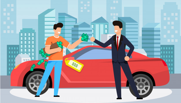 What is the process of making a car loan?