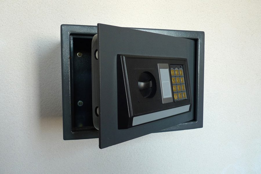 Fireproof Biometric Wall Safe To The Rescue!