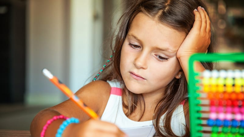 kids struggling in math